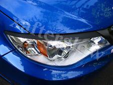 2008-2014 Subaru Impreza WRX STI Carbon Fiber Headlight Eyelid Overlays