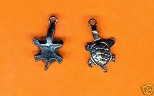 20 wholesale lead free pewter turtle charms 1053