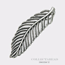 Authentic Pandora Sterling Silver Light As A Feather Pendant 390350CZ