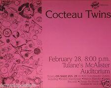 COCTEAU TWINS 1995 NEW ORLEANS CONCERT TOUR POSTER - Calendar Cafe Artwork