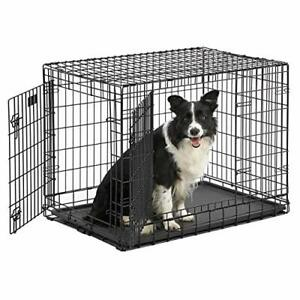 Midwest's Ultima Pro Extra-Strong Double Door Folding Metal Dog Crate