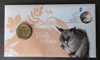 AUSTRALIA..2013 BUSH BABIES $1.00 DOLLAR COIN + $6.45 INTERNATIONAL POST.. PNC