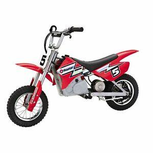 Razor MX350 Dirt Rocket 24V Electric Motorcycle Bike - Red (Open Box)