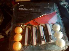 STIGA Performance Table Tennis Set (4 Player Set), Red/Black, Model:T1365