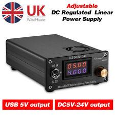 More details for nobsound 25w usb dc5-24v adjustable linear power supply for hifi audio amp diy