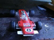 POLITOYS made in ITALY LOTUS 63 F1 échelle 1/32 bon état d'usage manque aileron