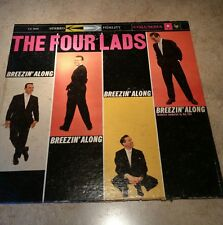 THE FOUR LADS Breezin' Along COLUMBIA ORIG STEREO JAZZ POP VOCAL LP NEW SEALED