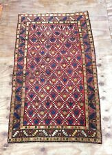 Antique Caucasian Hand Woven All Over Design Rug