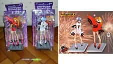 EVANGELION Coppia Figure REI e ASUKA Matsuri NIGHT OF FESTIVAL Nuove SEGA Japan