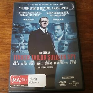 Tinker Tailor Soldier Spy DVD R4 VERY GOOD - FREE POST
