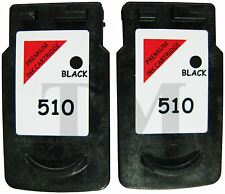 PG-510 Twin Pack Black Ink Cartridges fits Canon Pixma MX410 Printers