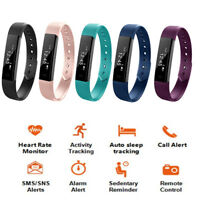 Smart watch Fitness Tracker Time Distance calories Heart Monitor Mobile Notify