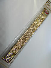 "SPEIDEL Medilog TwistOFlex WatchBand..Gold Plated..16-19mm (5/8-3/4"")"