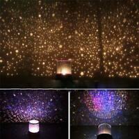 NEW Rotating Galaxy Projector Night Light Ceiling Lamp: Stars, Moon, Cosmos, Sky