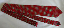 Vintage Marshall Fields Red Paisley Dot SILK Tie Clubfellow Store For Men Tie
