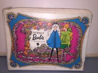 Vintage 1968 White The World Of Barbie Double Doll Case For Barbie & Her Friends
