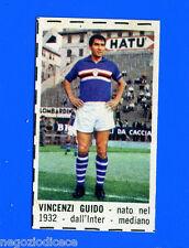 CORRIERE DEI PICCOLI 1966-67 - Figurina-Sticker - VINCENZI - SAMPDORIA -New