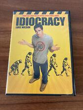 Idiocracy (DVD, 2006) Mike Judge Luke Wilson Rare OOP HTF