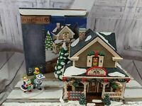Dept 56 55072 quilts and pies shop bucks county xmas holiday village accessories