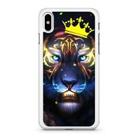 Ultra Powerful Divine Colourful Majestic Galactic Space Lion Phone Case Cover