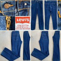 """Vintage Levi's 517 Jeans Made In USA  W 33 L 34 32"""" Waist Boot Cut"""