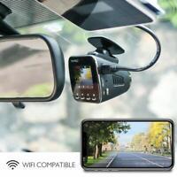 AKASO Caméra Voiture Embarquée Conduite Enregistreur WiFi Dash Cam 1296P FHD -FR