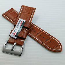 NEW ! ! 26MM MATTERHORN GENUINE LEATHER WATCH BAND/STRAP HIGH QUALITY FOR MEN