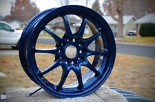 Midnight Navy Blue Metallic Powder Coating Paint New 1lb