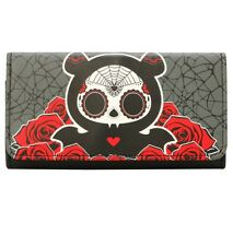 Skelanimals Diego Day Of The Dead Bat Flap Trifold Wallet New With Tags!