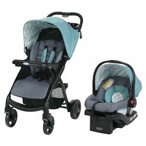 Graco Verb Click Connect Travel System with SnugRide30 Infant Car Seat, Merrick