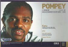 Football Programme - Portsmouth v Arsenal - Premiership - 13/5/2007