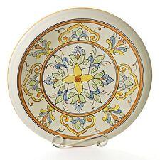 "Le Souk Salvena 16"" Large Serving Bowl Ceramic Hand-Painted Tunisia SL02"