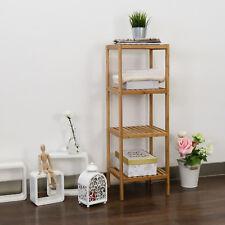 Bamboo Rack Multifunctional Bathroom Kitchen Living Room Holder Storage shelf