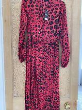 BNWT Leopard Midi Dress UK6