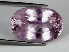 21.25 Ct Flawless Nice Natural Oval Cut Pastel Pink Patroke Kunzite