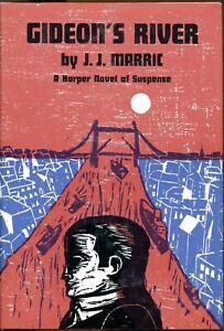 GIDEON'S RIVET by JOHN CREASEY writing as J. J. MARRIC-1st U.S. Edition/DJ-1968