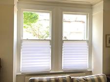 Privacy Blinds 6 White Skylight French Door Window Panel Bathroom Sheer Room New