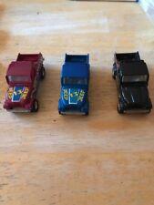 Hot Wheels 1982 Jeep Scrambler Set Of 3 Red Blue Black