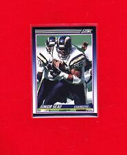 "JUNIOR SEAU 1990 ""SCORE TRADED"" ROOKIE FOOTBALL CARD (#65T) NFL - CHARGERS - HOF"