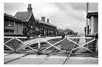 bb0043 - Bamber Bridge Railway Station , Lancashire in 1963 - photograph