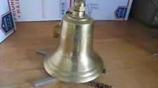 Vintage Marine Brass BELL -MV Midnight Sun 1947