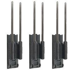 Delkim Safe D Carbon Snag Ears Carp Fishing Rod Security Bars X 3