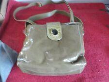 Chi by Falchi Large 100% Snakeskin Green Shoulder Handbag Purse  (JM)