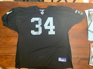 Bo Jackson Reebok Jersey Size 56 Los Angeles Oakland Raiders #34