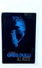 Greg Dulli All Access Laminate An Evening With Greg Dulli 2017 . Afghan Whigs