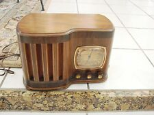 Emerson  Wood Ingraham Table AM 169 Radio 1939 dial doesnt work