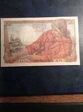 France 20 Franc Note 1943