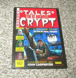 EC ARCHIVES TALES FROM THE CRYPT VOL VOLUME 1 COMIC BOOK OMNIBUS GEMSTONE