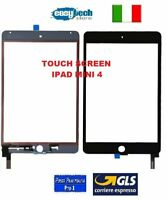 TOUCH SCREEN Vetro  iPad Mini 4 A1538 A1550 Connettore IC    Nero