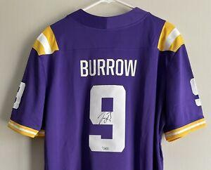 Joe Burrow Signed LSU Tigers Autographed Nike NCAA Auto Jersey FANATICS COA